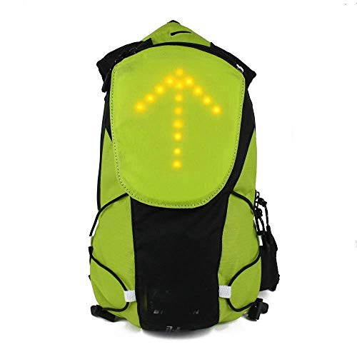 ShiSyan Y-LKUN LED Turn Signal Light Reflective Vest Backpack/Waist Pack/Business/Travel/Laptop/School Bag Sport Outdoor Waterproof for Safety Night Cycling/Running/Walking ,Bike Accessories