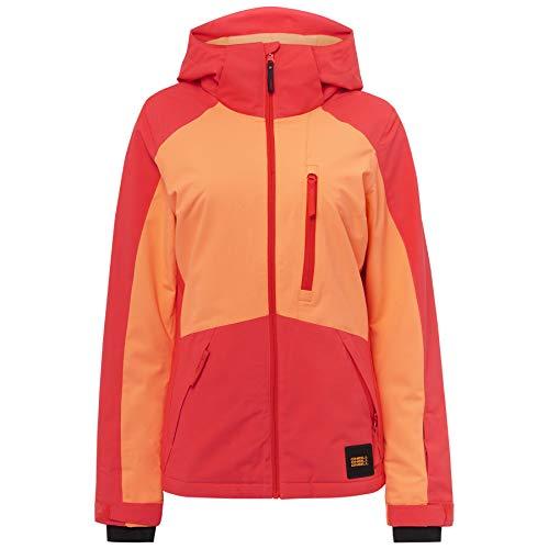 O'Neill Pw Aplite Ski- und Snowboardjacke für Damen XS Orange (Neon Flame)