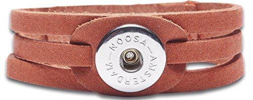 NOOSA Armband Raw Romance Ocean - APRICOT - NOOSA Amsterdam Original (M)