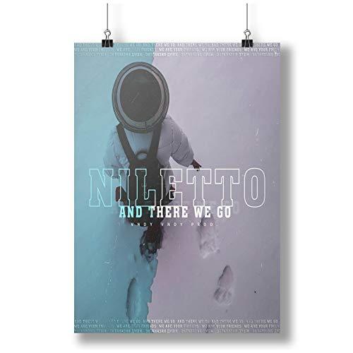 Niletto Favorite Star Russian Singer Man A0 A1 A2 A3 A4 Poster de fotos satinado p11743anh