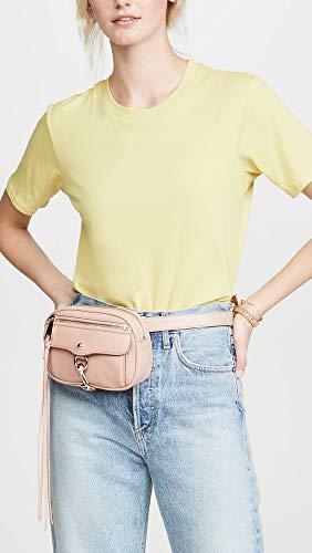 Rebecca Minkoff Women's Blythe Belt Bag, Doe, Pink, One Size