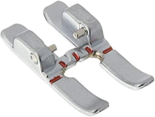 Sew-Link 6 mm Open Toe Satin Stitch Metal Applique Foot with IDT for Pfaff #93-036931-91