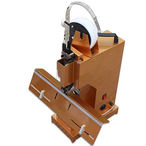 NEWTRY Professionelles elektrisches Heftgerät, automatisches Flach- und Sattelbinden, strapazierfähig, A3-Größe, Pamphlet-Heftgerät, Papier-Faltmaschine, mit Fußpedal, 220 V (220 V Spannung)