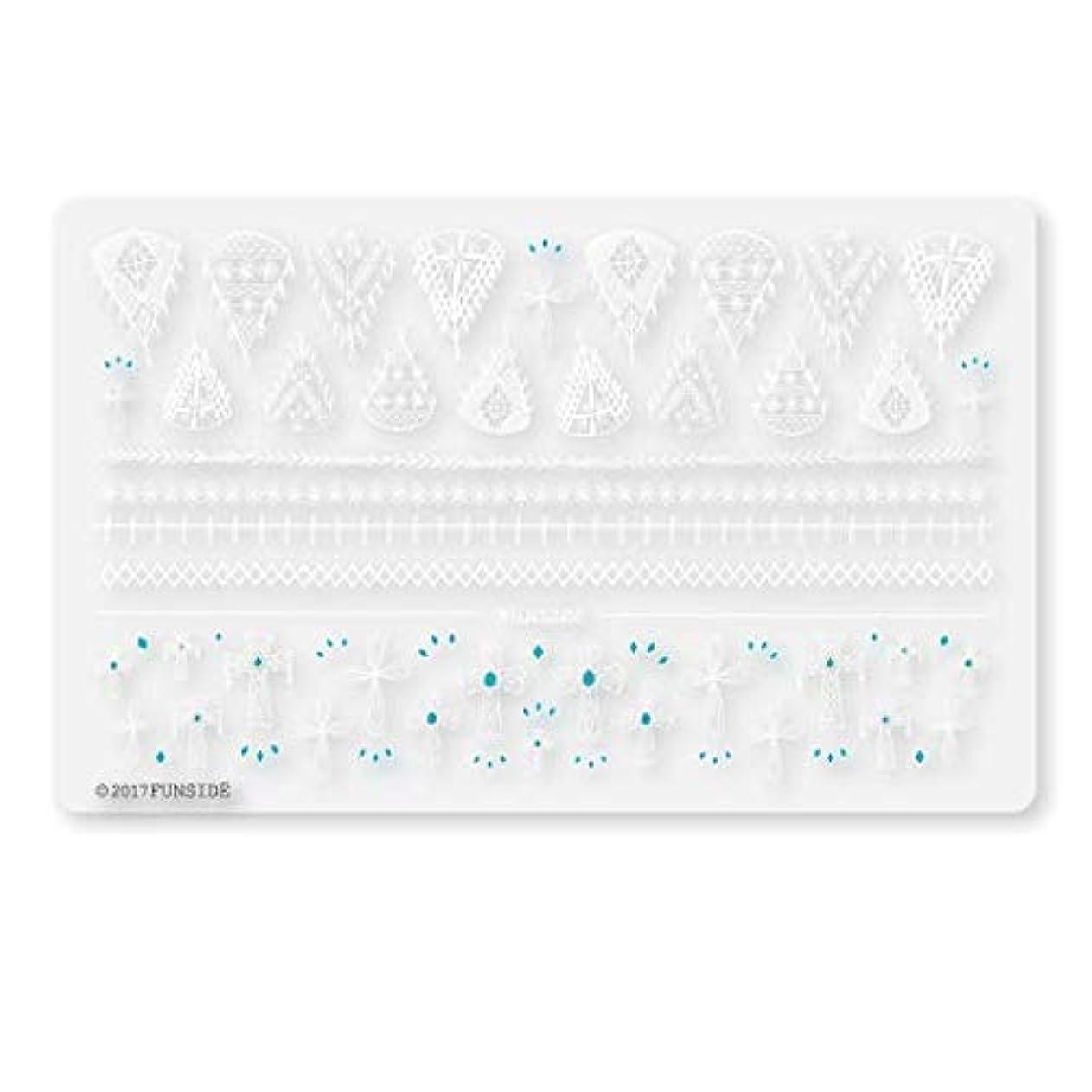 再発するやがて平和なS043 / Crochet + / クロシェクロス/ネイルシール