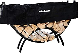 Woodhaven The 5 Foot Crescent Firewood Rack