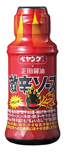 正田醤油 ペヤング×正田 激辛ソース 150ml ×6本