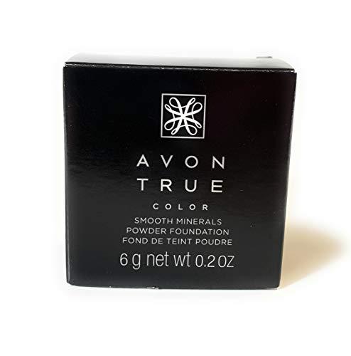 Avon True color smooth minerals powder foundation earth
