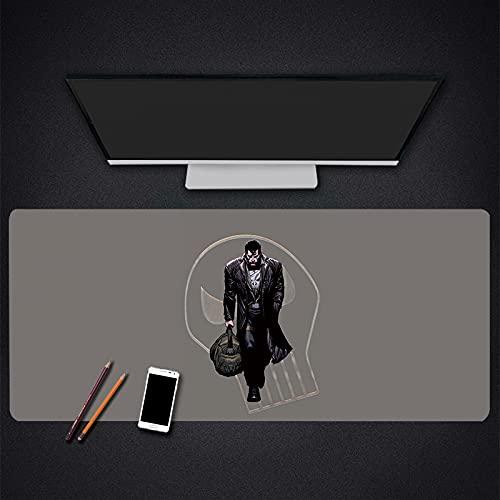 Alfombrilla para ratón para Juegos Alfombrilla para Ordenador portátil para Oficina Alfombrilla para Teclado para Juegos Escritorio, Superficie Impermeable de Goma antideslizante-1000x500x3mm