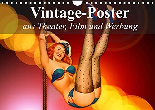 Carteles antiguos de teatro, cine y publicidad