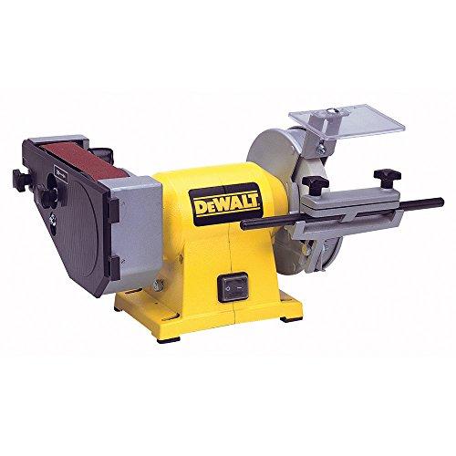 Dewalt DW753-QS Esmeriladora de Banco 415W 2.750 rpm 150 mm con Cinta de lija