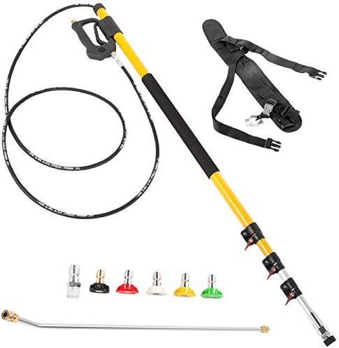 Happybuy Pressure Washer Wand Telescoping 18ft 4000psi Telescopic Pressure Washer Wand with product image