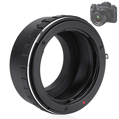 Pomya Camera Lens Adapter Ring, Lens Mount Adapter, Metalen Handmatige Focus Lens Adapter Ring voor YASHICA CY Lens te passen voor Fuji FX Mirrorless Camera