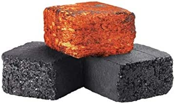 Natural Coconut Hookah Coals - New mail order of 60 Charcoa Pieces Popular standard Flats