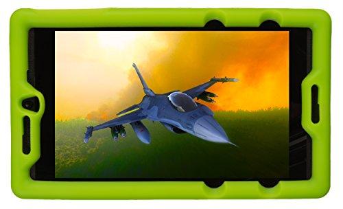 BobjGear Carcasa Resistente para NVIDIA Shield Tablet K1 - Bobj Funda Protectora (Verde)