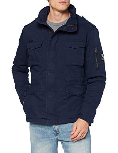 Superdry Mens Classic Rookie Jacket, Squad Navy, Medium