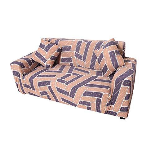 JXJ Vilstol stolskydd Settee överdrag Klippan sofföverdrag stretchskydd för soffor vilstol överdrag magisk sofföverdrag sammet sofföverdrag 90-140, beige