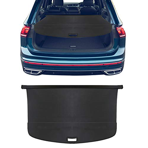 munirater Retractable Cargo Cover Security Trunk Shield Replacement for 2018-2019 Volkswagen VW Tiguan