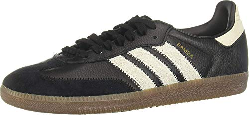 Adidas Schuhe Samba OG FT Core Black-Raw White-Gold Metallic (EE5457) 44 2/3 Schwarz