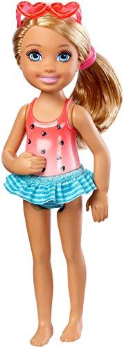 Mattel Barbie Club Chelsea Mini Doll - Swimsuit Blonde Hair (Dwj34)