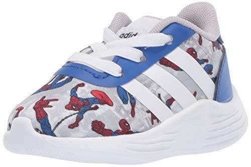 adidas Baby Unisex's Lite Racer 2.0 Running Shoe, Team Royal Blue/FTWR White/Scarlet, 3K M US Little Kid