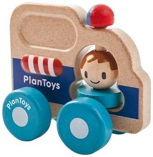 Plan Toys Rescue Car Mini Vehicle by PlanToys