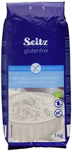 Seitz glutenfrei Helle Mehlmischung Bio, 6er Pack (6 x 1000 g)