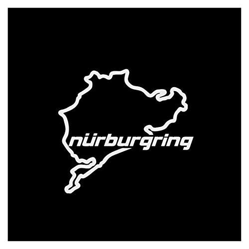Pegatina Nurburgring  marca Without