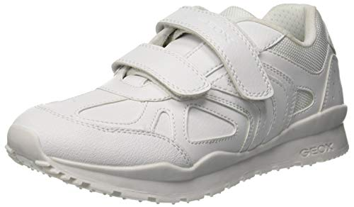 Geox J Pavel F, Zapatillas para Niños, Blanco (White C1000), 39 EU