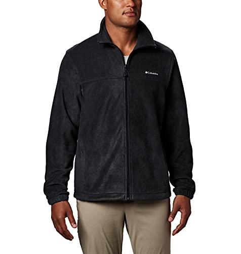 Columbia Men's Steens Mountain 2.0 Full Zip Fleece Jacket, Black, XX-Large