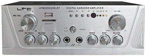 LTC Audio ATM2000USB-BT Amplificatore Stereo karaoke
