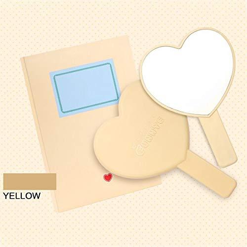 Romantische leuke meisjes-hart-gevormde snoepjes-kleurmake-upspiegel 3 kleuren