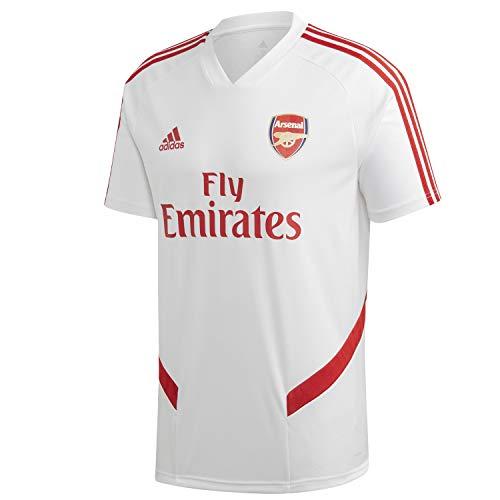 adidas Herren AFC TR JSY T-Shirt, Blanco/Escarl, XS