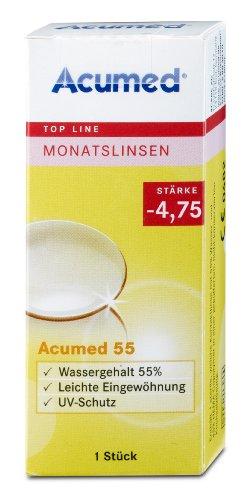 Acumed 55 Monatskontaktlinse, -1.75 Dioptrien, 1 Stück