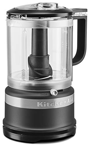 KitchenAid KFC0516BM 5 Cup Whisking Accessory Food Chopper, Black