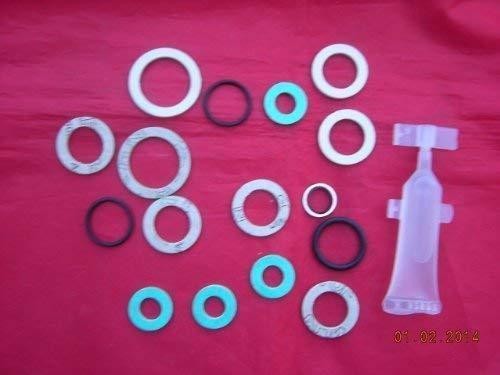 Alpha He CB25 CB33 & SY25 Pumpe & Wärmetauscher Waschmaschine O'Ring Dichtungssatz 3.016825
