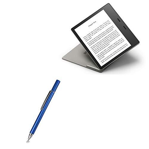 Caneta Stylus Amazon Kindle Oasis (3ª geração 2019), BoxWave [FineTouch Capacitive Stylus] Caneta Stylus super precisa para Amazon Kindle Oasis (3ª geração 2019) - Azul Lunar