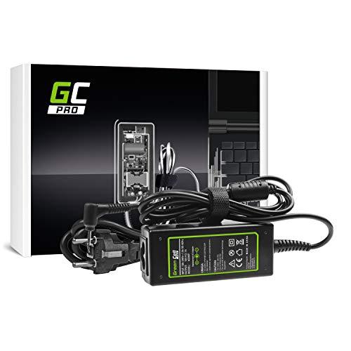 GC PRO Netzteil für Asus Eee PC R101D R101X R102E R105D R11CX R251B R251N Laptop Ladegerät inkl. Stromkabel (19V 2.1A 40W)