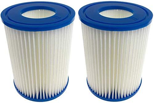 RHX - Filtro universal II adecuado para filtro de piscina Bestway (apto para Bestway II), 2 piezas.