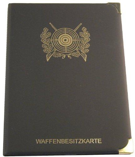 WBK Etui mit 2 zusätzlichen Fächern für Schützensport (Schützenscheibe, schwarz)
