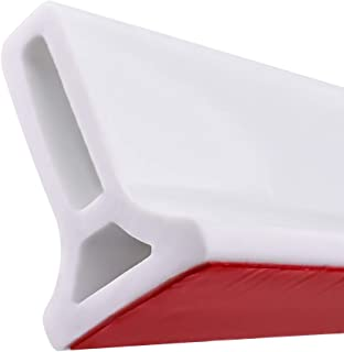 Frantie 118 Inch Collapsible Shower Water Shower Threshold Water Stopper Barrier and Retention System and Keeps Water Insi...