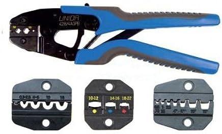 Set von von von Crimp-Presszangen mit austauschbaren Backen - 428 4AGPB - UNIOR B00BOV2VNS | Ausgezeichnetes Handwerk  42145f