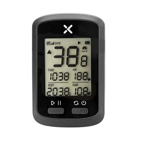 Cuentakilómetros para Bicicleta Bici de la computadora inalámbrica G + GPS Velocímetro...