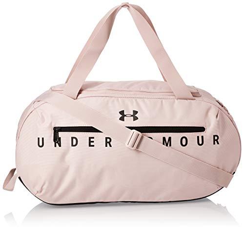 Under Armour UA Undeniable 4.0 Duffle MD geräumige kompakte Sporttasche, Wasserabweisende Umhängetasche, Rosa (Dash Pink/Black/Black (667), Einheitsgröße