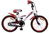 AMIGO BMX Turbo - Bicicleta Infantil (46 cm), Color Blanco