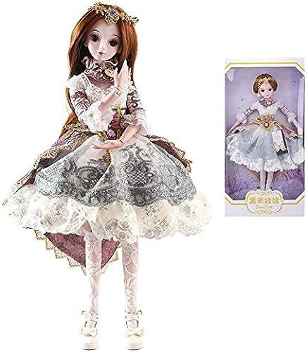 MEMIND Bjd Puppe 6cm   Dress Up Hochzeitskleid Prinzessin Anzug Gemeinsame Puppe  ern Kleidung Schuhe Dekoration Warten