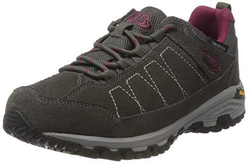 Brütting Mount Adams Low Chaussures de randonnée pour Femme - Gris - Gris Bordeaux, 38 EU