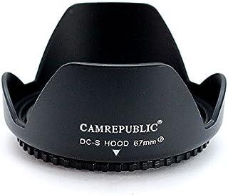 Visera Parasoles cubierta del objetivo CELLONIC/® Parasol EW-78E compatible con objetivo Canon EF-S 15-85mm f//3.5-5.6 IS USM Capilla C/ámara