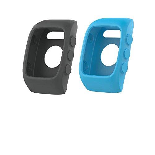 2 Stück VAN-LUCKY Soft Silikon Band Cover Für Polar 400/M430 Schutzhülle Cover Protector Ersatz flexible