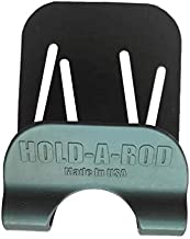 Hold-A-Rod Rod Holder Supports Your Fishing Rod and Reel Leaving Both Hands Free. Wading Belt Included.