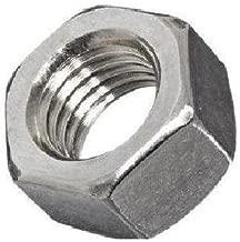 """أجزاء صغيرة fsc14fhn5z medium-strength سداسية من الفولاذ المقاوم للصدأ ، درجة 5، صامولة المطلية بالزنك ، 1/4"""" -28""""مقاس الخيط (حزمة مكونة من 100)"""
